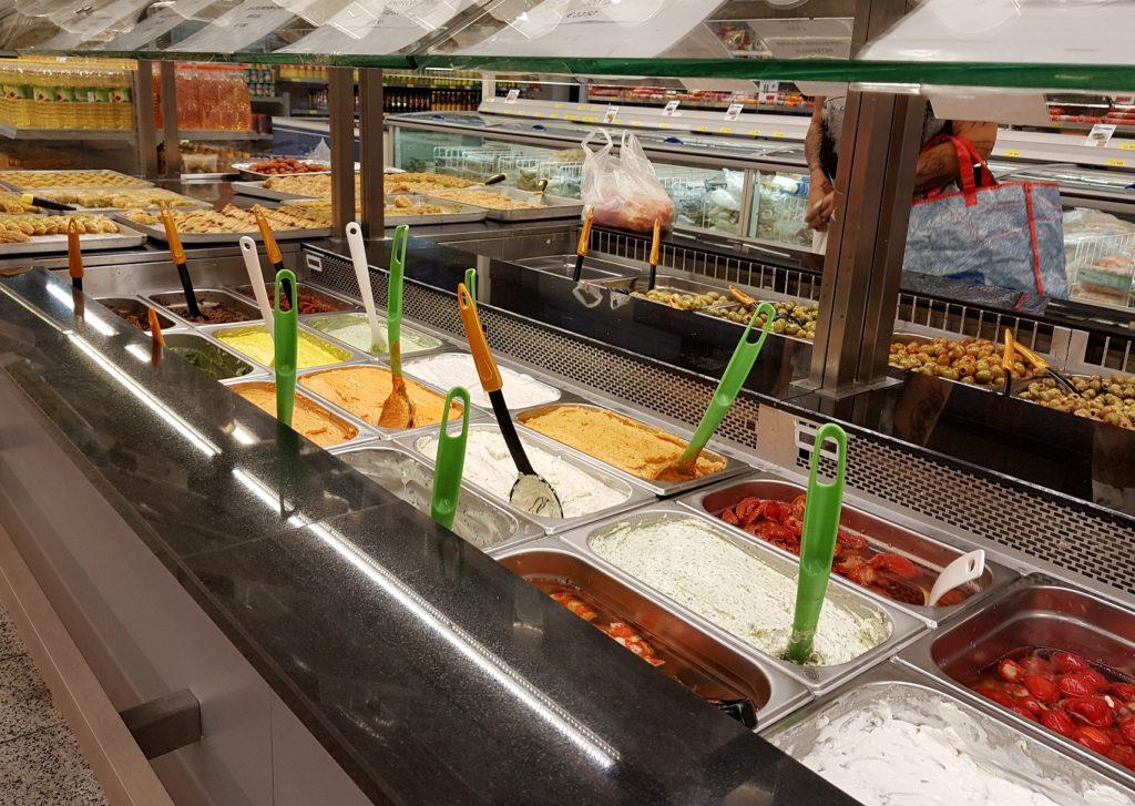 zero waste winkelen bij Turkse supermarkt
