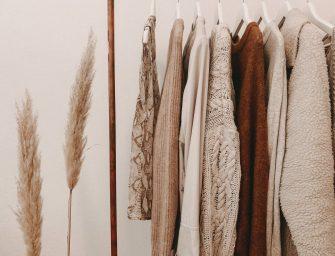 10 tips voor een duurzame garderobe