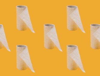 Duurzaam knutselen met wc-rolletjes