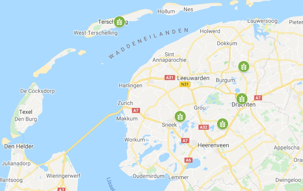 maps Friesland