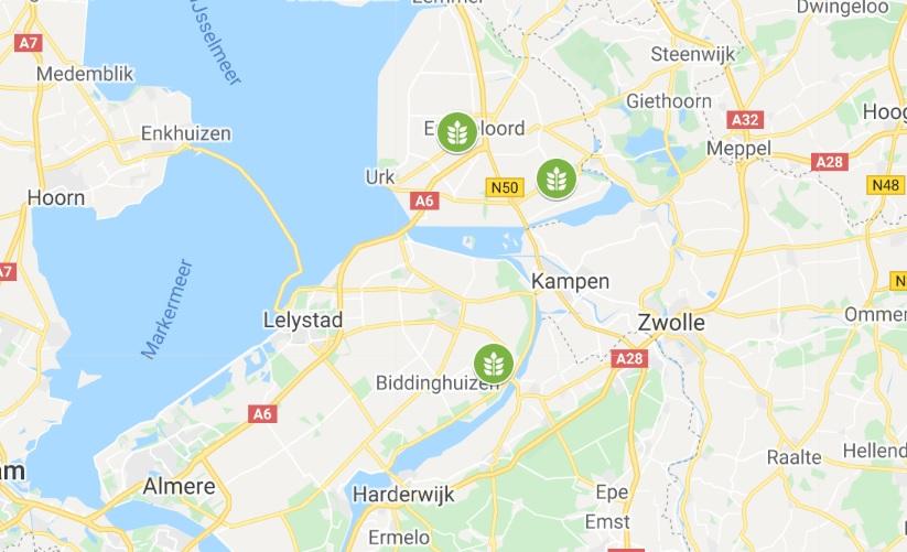 maps Flevoland