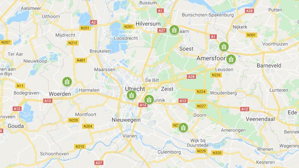 maps Utrecht