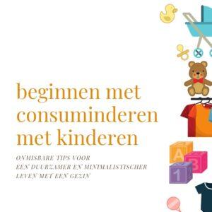 cover beginnen met consuminderen met kinderen